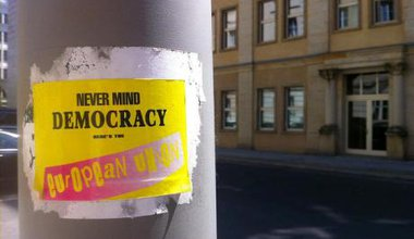 Never mind democracy