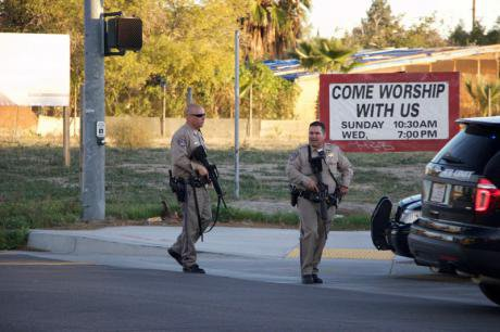 Mass shooting leaves 14 dead in San Bernardino, California, december 2, 2015.