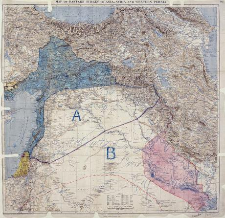 927px-MPK1-426_Sykes_Picot_Agreement_Map_signed_8_May_1916.jpg