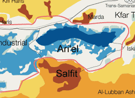 The settlement of Ariel