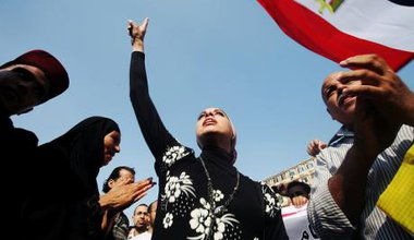 A Tahrir Square protest against the Military Trial for civilians, September 2011. Credit - Oxfamnovlb.jpg