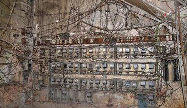 A view of an electricity meter room in Havana, Cuba..jpg