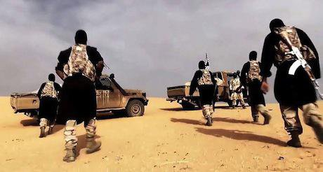 AQIM propaganda video. Wikimedia Commons.