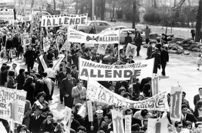 Chilean workers in 1964