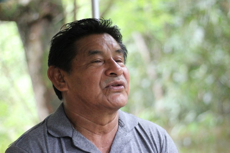 Amâncio Ikõ, killed by covid on June 2, 2020, while accompanying studies by a working group established to draw up the limits of the Munduruku Sawre Bapin territory in 2019.