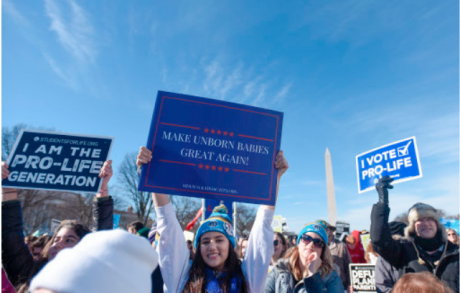 2018 March for Life in Washington DC.