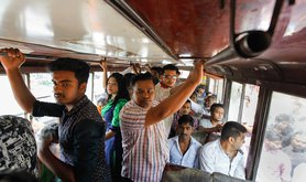 Bangladesh bus - courtesy of Dhaka Tribune