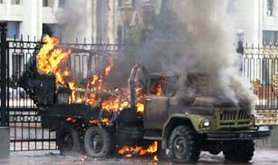 Riots in Bishkek