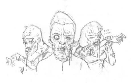 Zombies sketch.