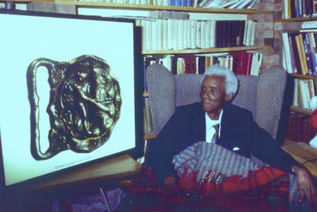 C.L.R. James at his home in Brixton, London. Wikimedia/Hill123. Some rights reserved.