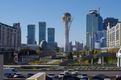 Despite the immense sums of money spent, construction standards in Astana are not always of the highest quality