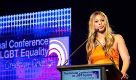 Laverne Cox at Creating Change