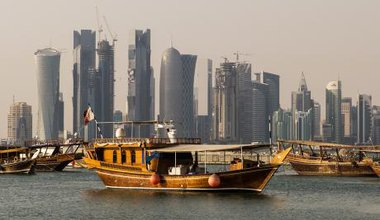 West Bay Skyline in Doha, Qatar