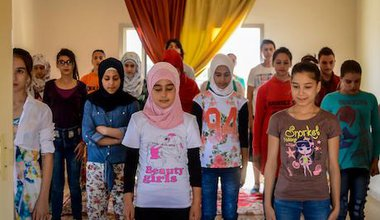 Create Syria_Children at theatre workshop_Raghad Makhlouf InternationalAlert.jpg