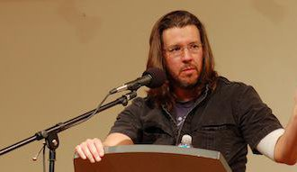 David Foster Wallace. Flickr/Steve Rhodes. Some rights reserved.