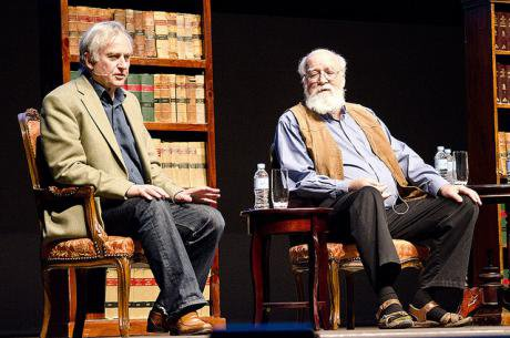 Dawkins and Dennett at the Global Atheist Convention 2012. Crouchy69:Flickr. Some rights reserved_0.jpg