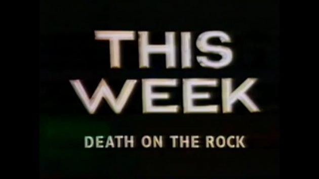 Title image from Death on the Rock