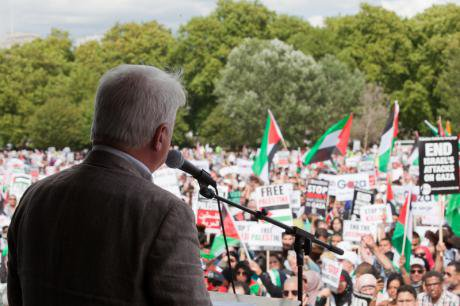 National demonstration for Gaza in Hyde Park. Demotix/Mark Kerrison. All rights reseved.