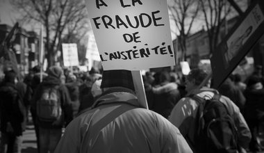 Protest against austerity in 2015. Flickr. Some rights reserved.