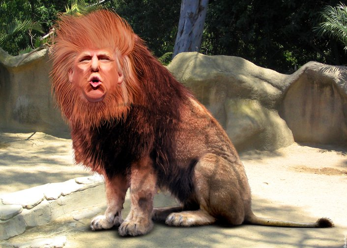 Donald Trump - King of the GOP Jungle, August 2015.