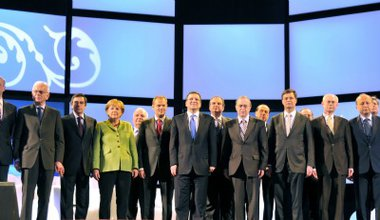 EPP Prime Ministers during the 2009 Congress in Warsaw. Wikipedia/Europarliament