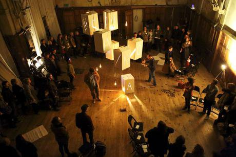 The general assembly at Battersea Arts Centre, London