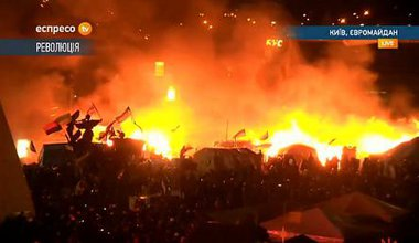 Clashes in Kyiv