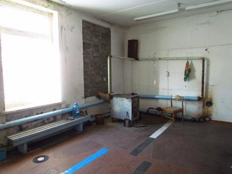 A working First Aid Centre in the Sargat District. It is not as filthy as the closed down one, but hardly very nice.