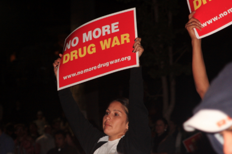 Rally to End the War on Drugs, Los Angeles, 2011.