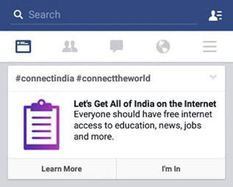 Facebook India campaign. All rights reserved.
