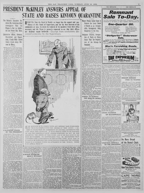 Fig 2 – The San Francisco Call 19 June 1900. Fair use.