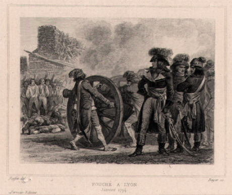 French Revolution - Fouché - Repression of Lyons Insurgency (January 1794).