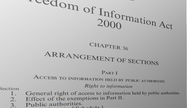 Freedom of Information Act title page warped.jpg
