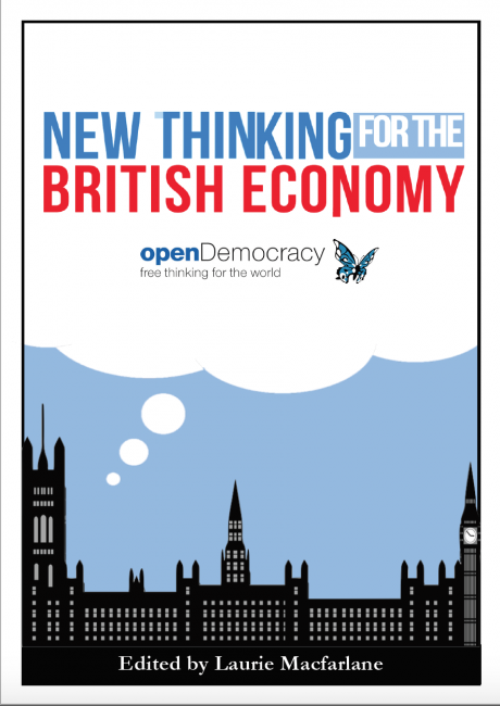 New Thinking for the British Economy book cover