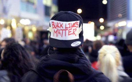 Black Lives Matter activist. Courtesy of Generation Revolution.
