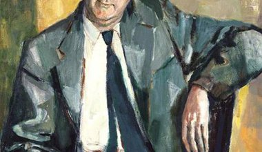 Portrait of Hugh Gaitskell.