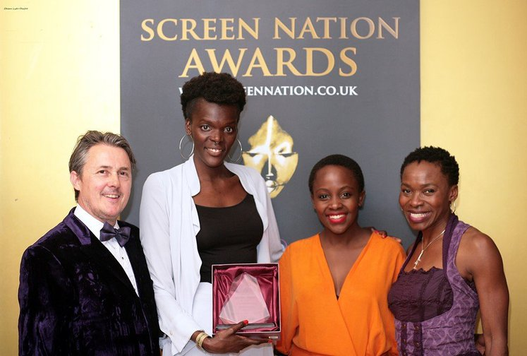 Sheila Atim with Shanty Productions receives Female Performance in Film Award.