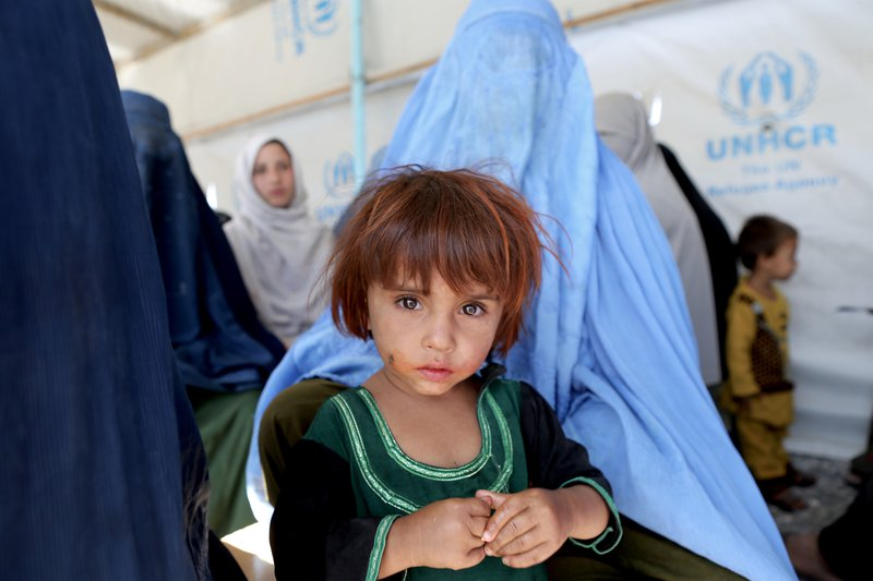 This 21-year old mother, who was born in Pakistan was sent to Afghanistan with her child, as part of mass returns in 2016. They were made to board an open truck and sent to their original 'home' . But they had never been in Afghanistan.