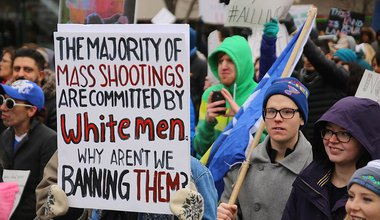 Immigration_Rally_The_Majority_of_Mass_Shootings_are_Committed_by_White_Men_(31911920834).jpg