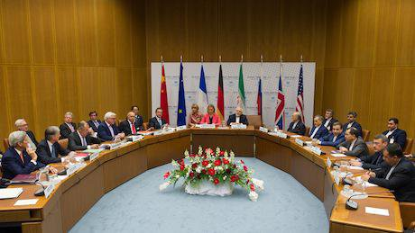 Iran deal reached in Vienna in June:July 2015. EEAS:Flickr. Some rights reserved.jpg