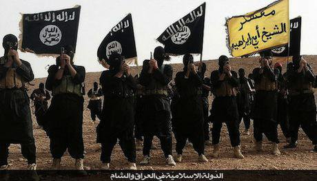 Islamic State fighters, Anbar, Iraq. Wikimedia Commons/Ritsaiph. Some rights reserved.