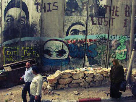 Bethlehem graffiti. Flickr/Paval Hadzinski. Some rights reserved.