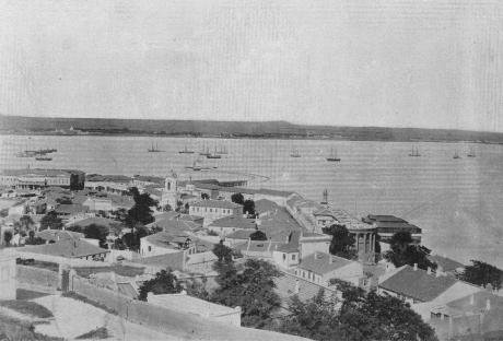 The Crimean town of Kerch in 1902. Post-war Crimea was very different from Imperial Crimea.