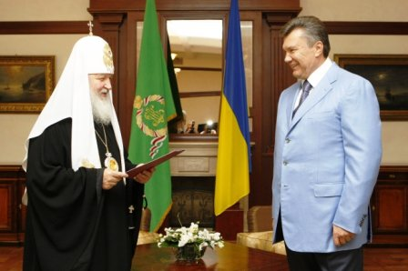 Kiril with Yanukovich