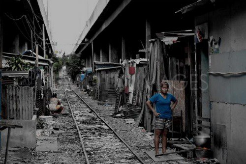Klong Toey Slum, Bangkok, Thailand. Demotix: Matt: all rights reserved.