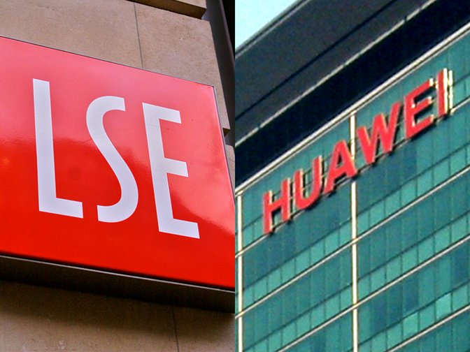 London School of Economics and Huawei signs
