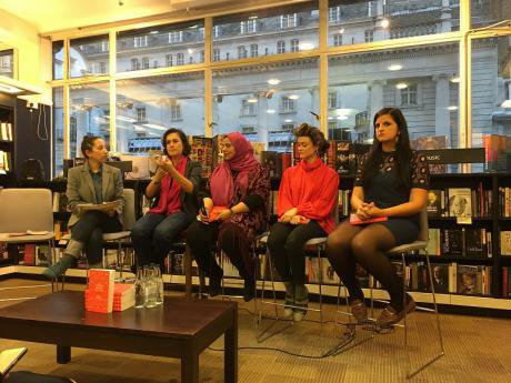 The things I would tell you, London book launch.