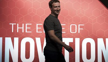 Mark Zuckerberg. Demotix/Lino De Vallier. All rights reserved.