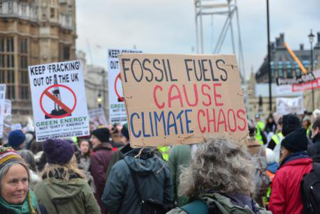 London climate march. Demotix/See Li