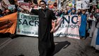 Anti-abortion demonstrators on a March for Life protest in Rome, Italy, 2018 | Giuseppe Ciccia / Alamy Stock Photo. All rights reserved